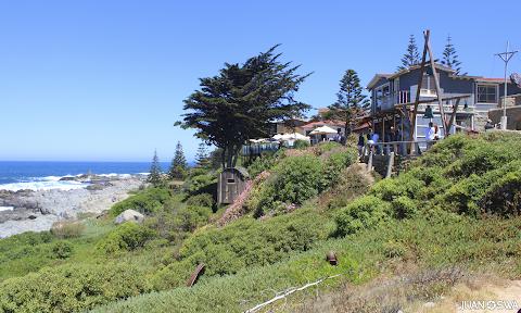 Visita a la casa de Pablo Neruda en Chile