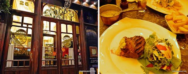 Restaurante em Bruxelas: La Roue d'Or