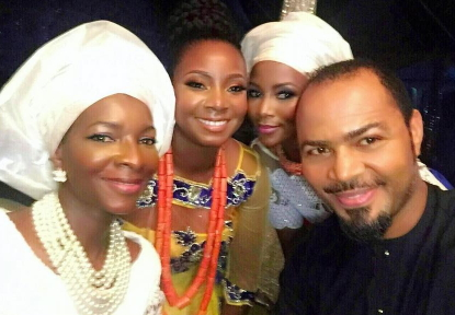 genevieve nnaji daughter wedding introduction