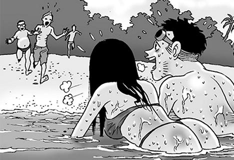 Silent Horror chap 55: Hàm cá mập