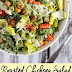 Roasted Chickpea Salad with Vegan Ranch Dressing Recipe