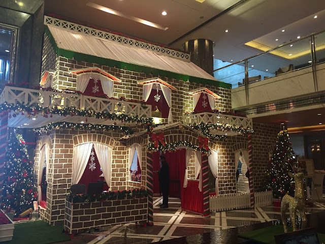 Gingerbread at THE LEELA AMBIENCE GURUGRAM HOTEL & RESIDENCES