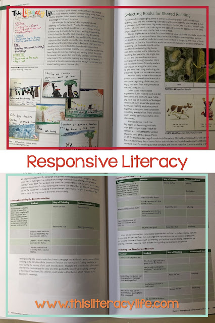 Professional books are a great way to get some professional development on your own time. These two books make literacy ideas easy and readily available for all teachers!