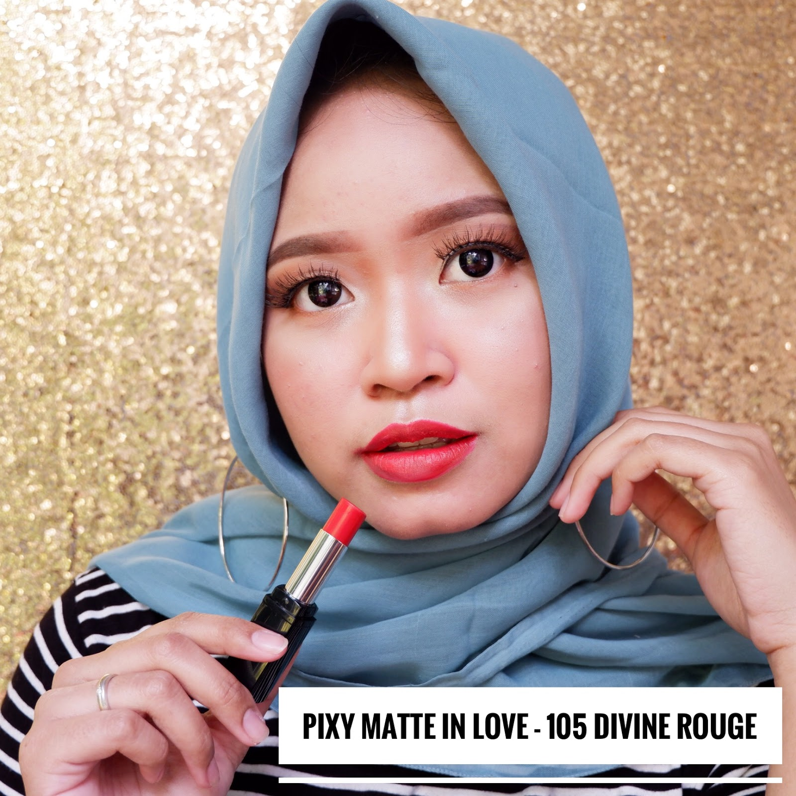 PIXY MATTE IN LOVE ALL SHADE (REVIEW DAN SWATCHES)