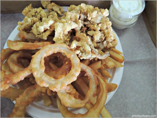 Woodman's of Essex: Chubby´s Original Fried Clams