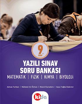Kida Yayınları 9. Sınıf Yazılı Sınav Soru Bankası PDF indir