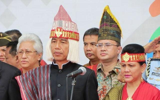 Presiden RI Ir. Joko Widodo beserta Ibu Negara Iriana Joko Widodo