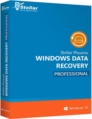 Stellar Phoenix Windows Data Recovery Professional 7.0.0.2 poster box cover