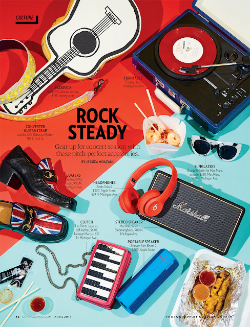 Chicago Magazine Rock Steady style page