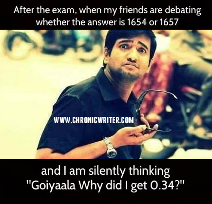 770. Throwback to examination hall