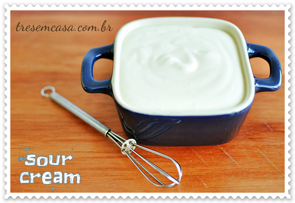 sour cream receita