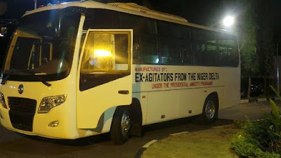 32 seater bus manufactured by ex militant