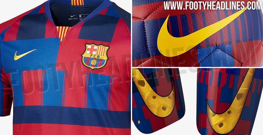 09b1171eaaa Full Nike FC Barcelona 20 Years  Mashup  Collection Leaked - cheap ...