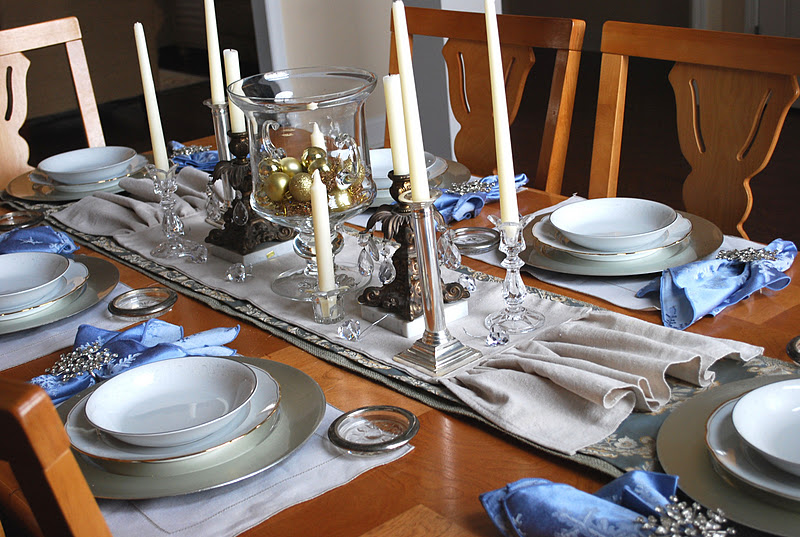 Fussy Monkey Business: Dining Table Set Up