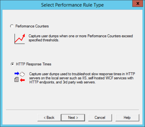 DbgSvc-Select-Performance-Rule-Type