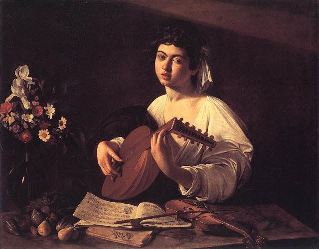 Tranh Caravaggio, Tranh sơn dầu