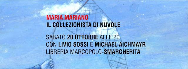 Maria Mariano alla MarcoPolo sabato 20 ottobre