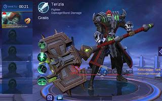 Wajib Pakai! Build Terbaik dan Mematikan Hero Terizla Mobile Legends