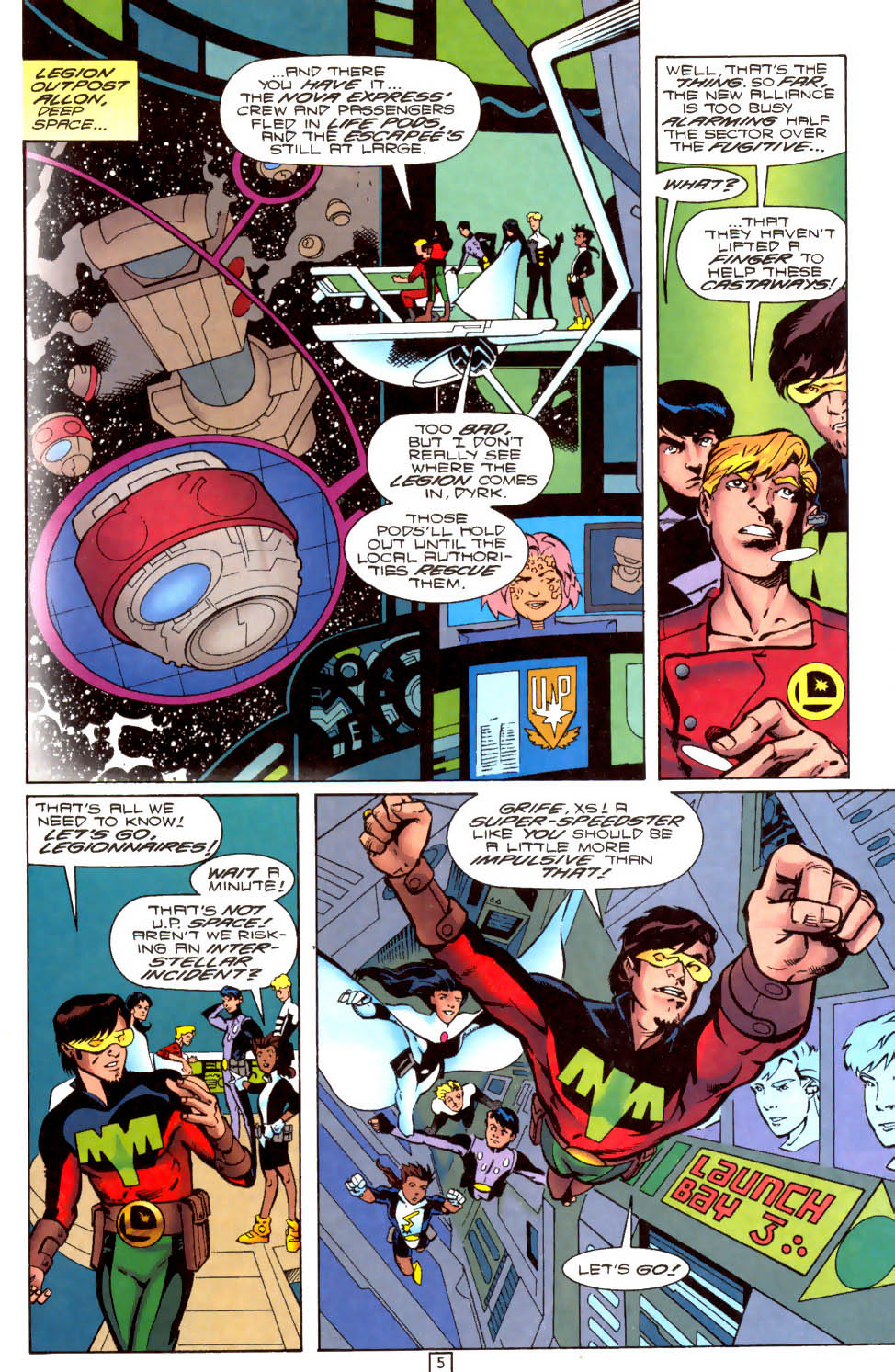 Legion of Super-Heroes (1989) 104 Page 5