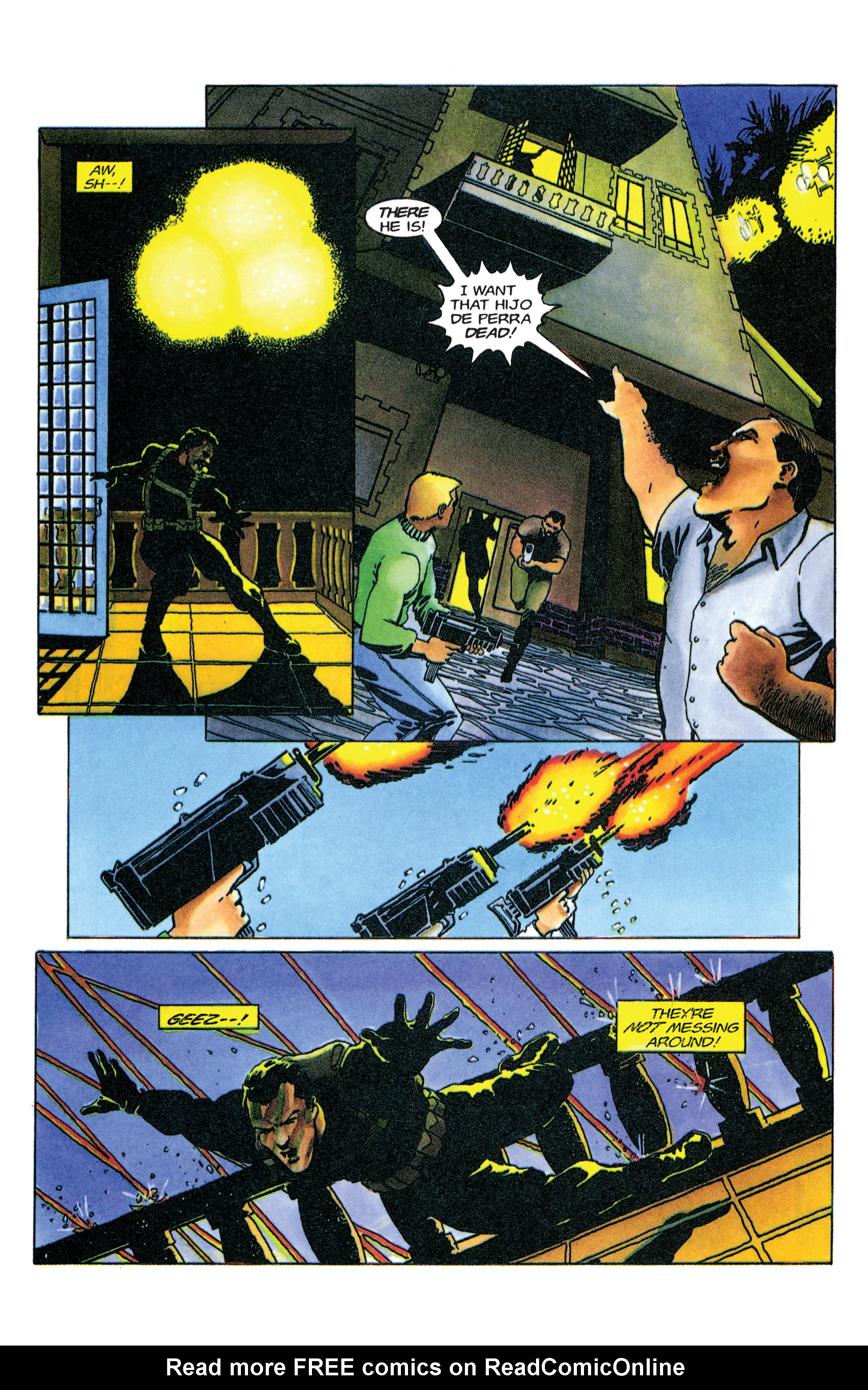 Read online Armorines comic -  Issue #9 - 12