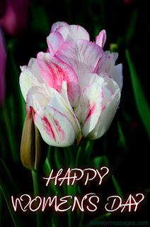 happy women's day images rose