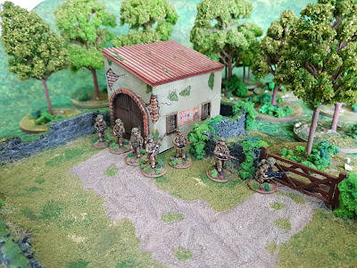 20mm 1/72 Normandy 3d printed terrain WW2