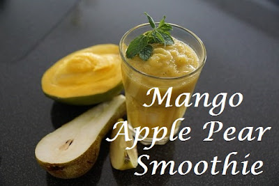 Mango Apple Pear Smoothie