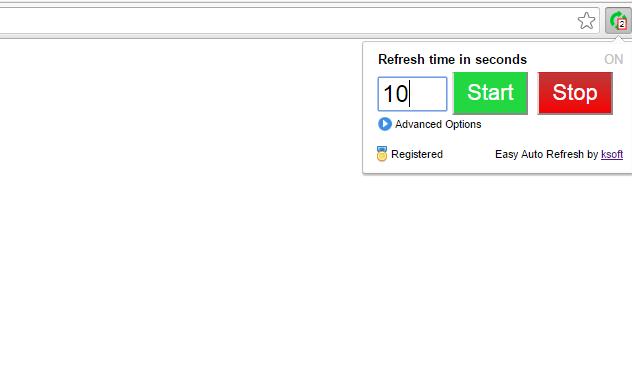 تحميل اضافة تحديث الصفحة تلقائيا جوجل كروم Auto Refresh