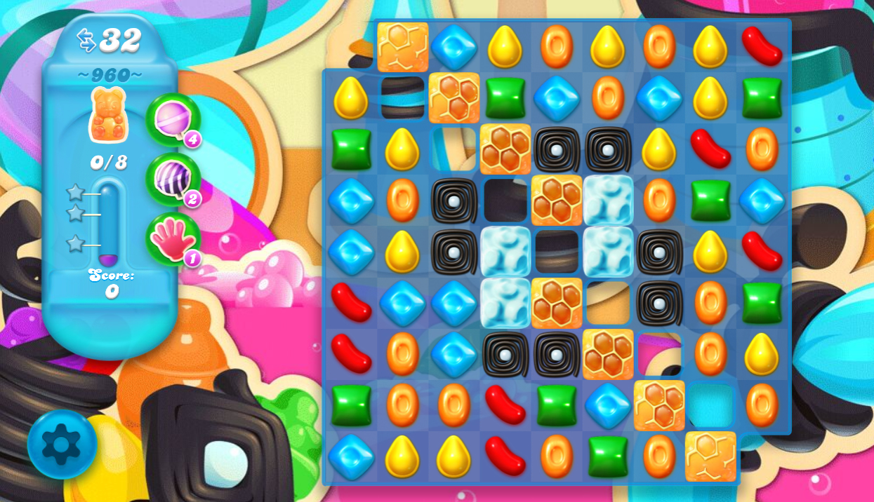 Candy Crush Soda saga Saga 960