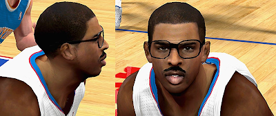 NBA 2K14 Cliff Paul Cyberface Patch