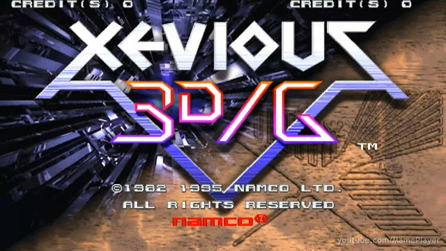 Hablamos de Xevious 3D/G+