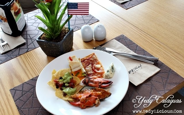 United Taste of America Buffet at F1 Hotel Manila