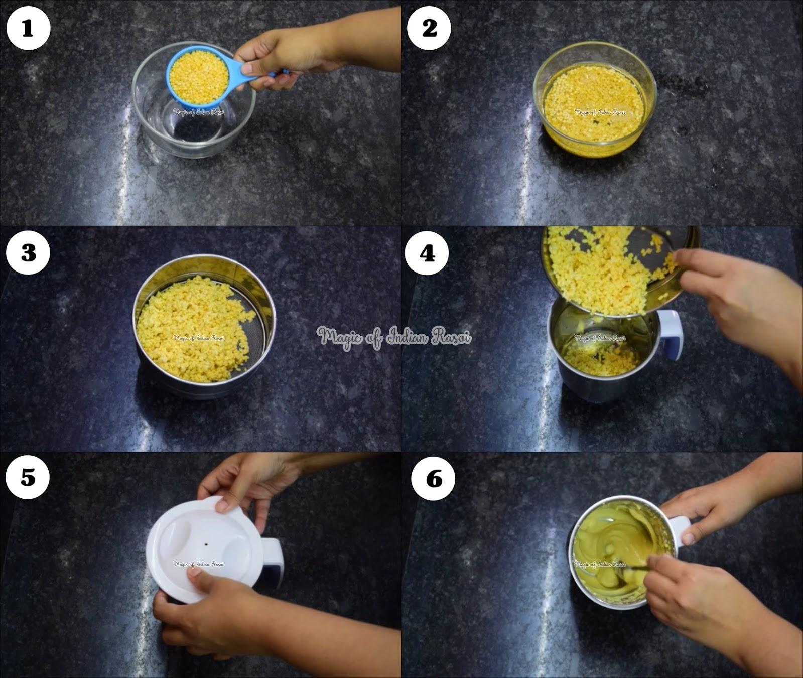 Methi & Moong Dal Vada - Methi Mung Dal Bhajiya Recipe - मेथी और मूँग दाल वडा - मेथी मूंग दल भजीया रेसिपी - Priya R - Magic of Indian Rasoi
