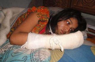 Man Chops Off Wife's Fingers For RefusingToo Stop School