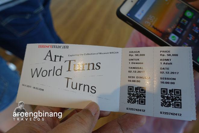 tiket masuk museum macan modern and contemporary art in nusantara jakarta barat