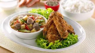 Resep Masakan Ayam Goreng Sambal Goreng Printil
