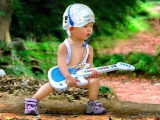 Niño rockero
