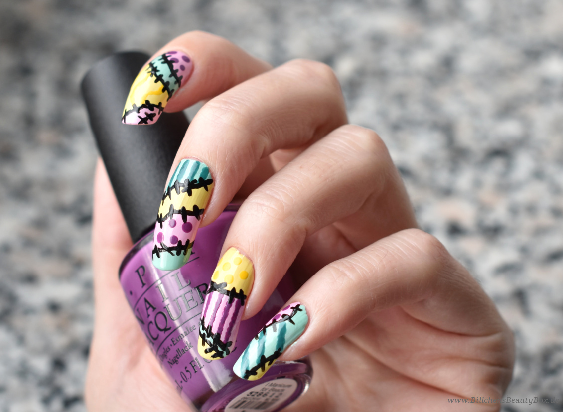 Nightmare before Christmas - Nageldesign