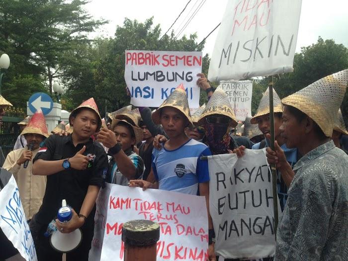 Warga Rembang Jateng Meminta Keadilan ke MA
