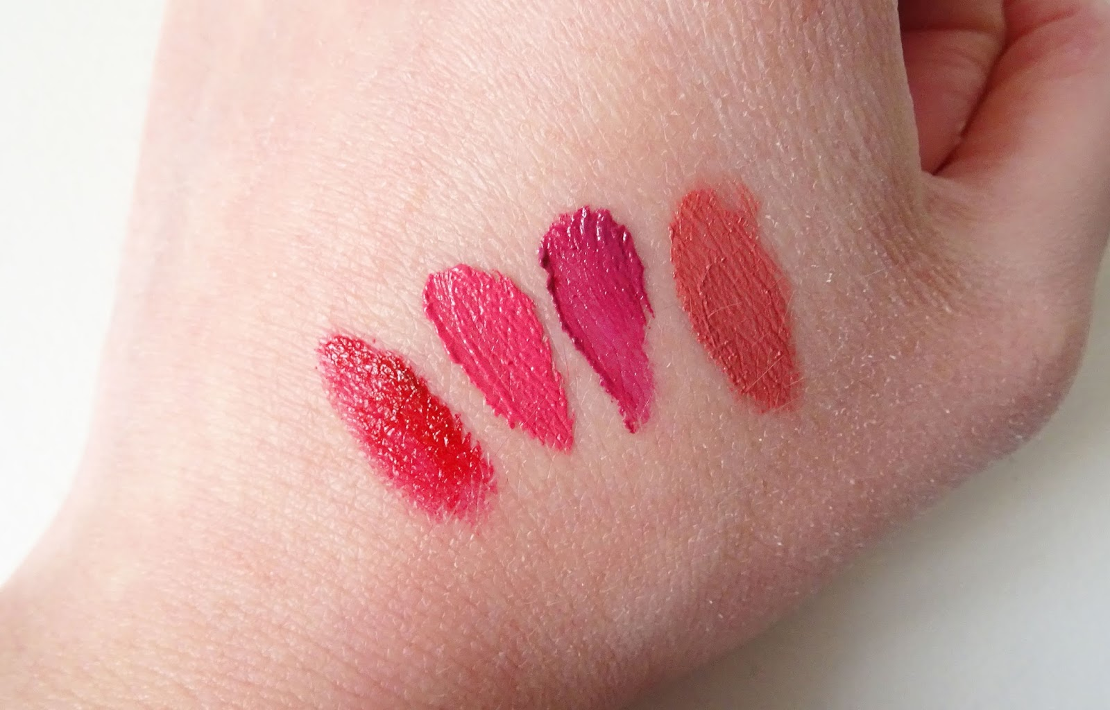 Soft Matte Lip Cream NYX swatch
