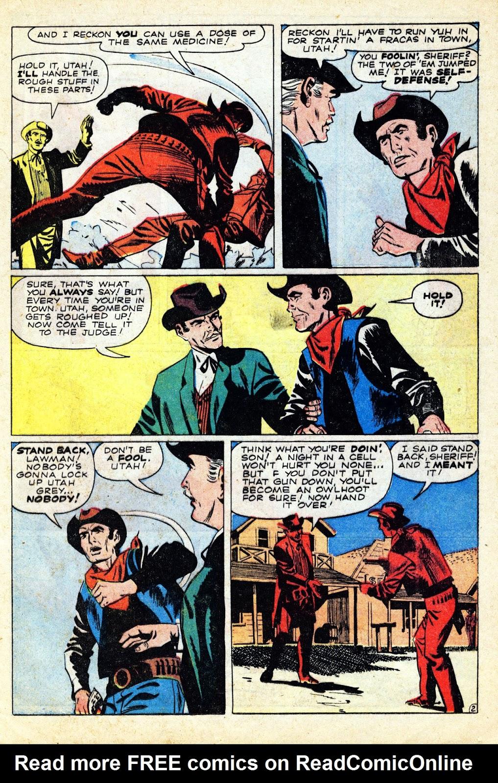 Gunsmoke Western issue 65 - Page 21