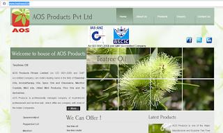 AOS Product Tea Tree Oil Manufacturer