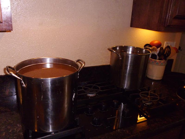 Boiling up sublot #1