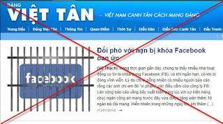 Việt Tân là đối phó và xuyên tạc!