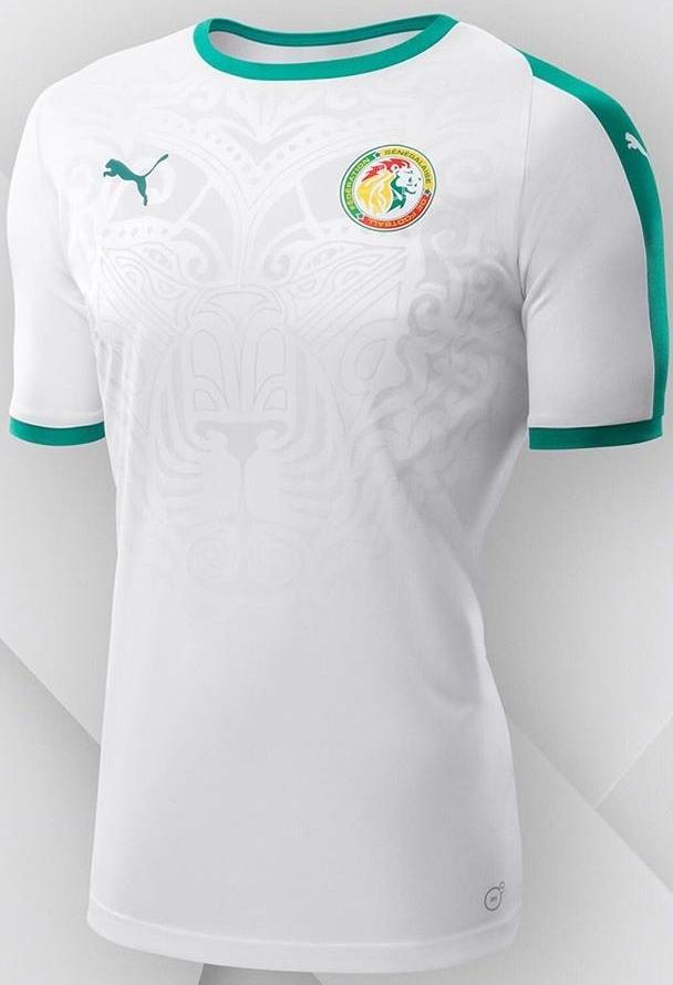 5cd9fbdc80 Puma lança as novas camisas de Senegal para a Copa do Mundo - Show ...