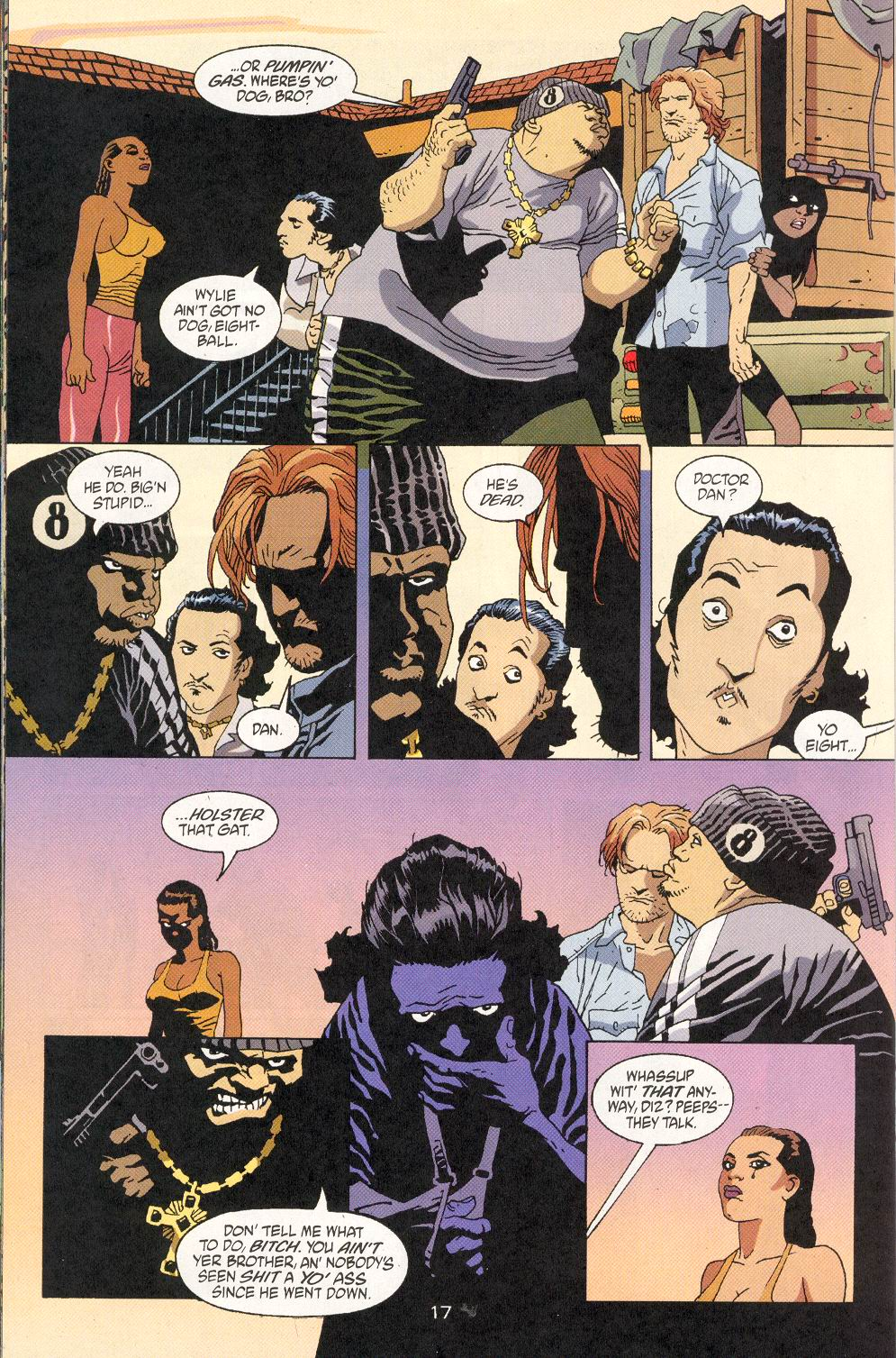 Read online 100 Bullets comic -  Issue #30 - 19