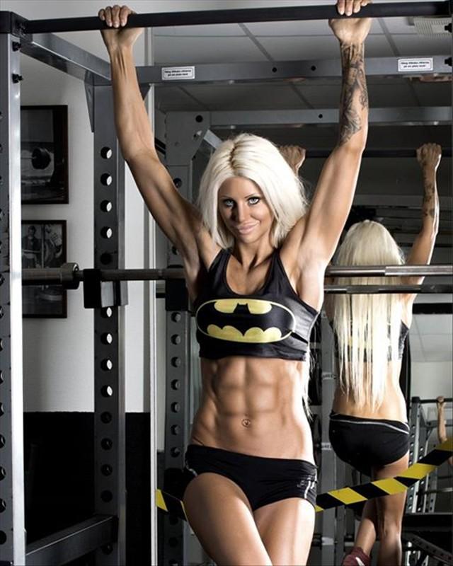 Sandra Reiche Fitness Model