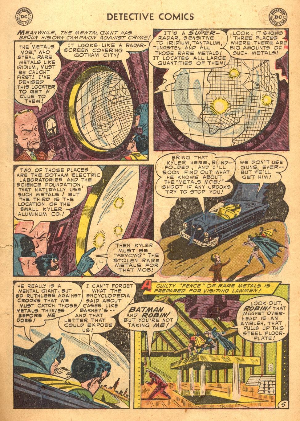 Detective Comics (1937) 217 Page 6