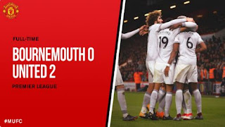 Video Gol Bournemouth vs Manchester United 0-2 Highlights - Liga Inggris