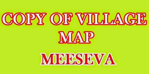 Copy of Village Map on apply meeseva